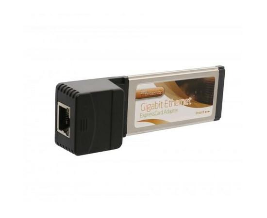 Адаптер Realtek RTL8111 ExpressCard 1000Mbps Network Ethernet Port, фото , изображение 3