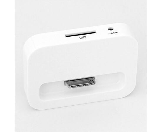 Док-станция для iPhone 4/4S- White, фото , изображение 4