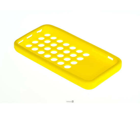 Чехол для iPhone 5C Silicon Back Cover Soft Skin Case (Yellow), фото , изображение 4