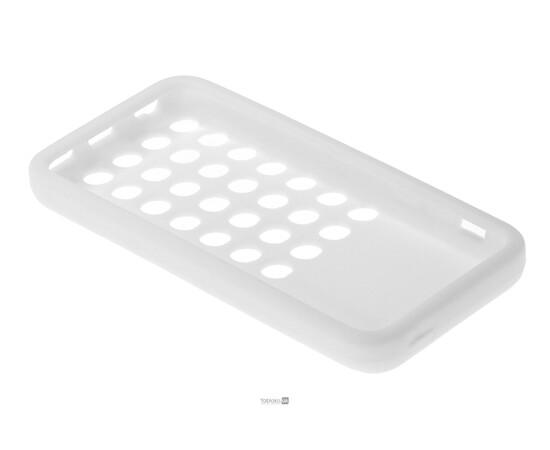 Чехол для iPhone 5C Silicon Back Cover Soft Skin Case (White), фото , изображение 5