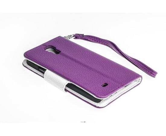 Чехол для Samsung Galaxy S4 Crazy on Digital Card Holder Flip Case Cover (Violet/White), фото , изображение 5