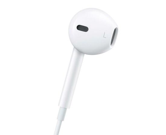Наушники-гарнитура The New Apple Earpods with Remote and Mic (MD827) вид левого наушника