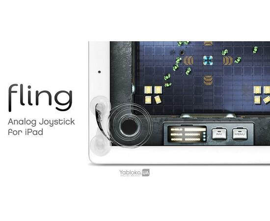 Джойстик One Design Fling для iPhone/iPod/iPad/Samsung Galaxy, фото , изображение 5