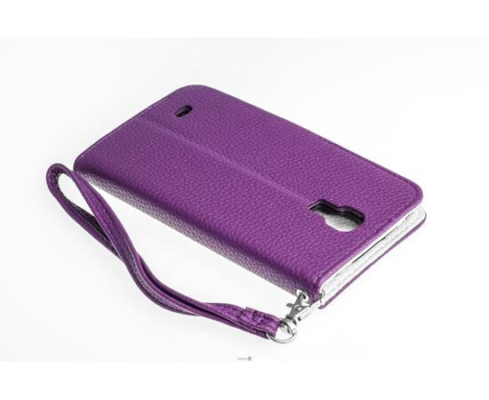 Чехол для Samsung Galaxy S4 Crazy on Digital Card Holder Flip Case Cover (Violet/White), фото , изображение 6