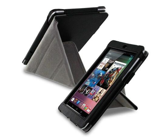 Обложка для Amazon Kindle Fire HD roocase Origami Dual-View Folio (Black), фото , изображение 6