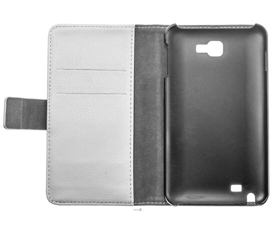 Чехол кожаный для Samsung Galaxy Note N7000 (White), фото , изображение 7