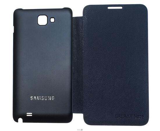 Чехол для Samsung Galaxy Note Flip Cover (Blue), фото , изображение 7