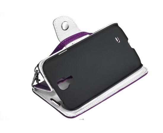 Чехол для Samsung Galaxy S4 Crazy on Digital Card Holder Flip Case Cover (Violet/White), фото , изображение 7