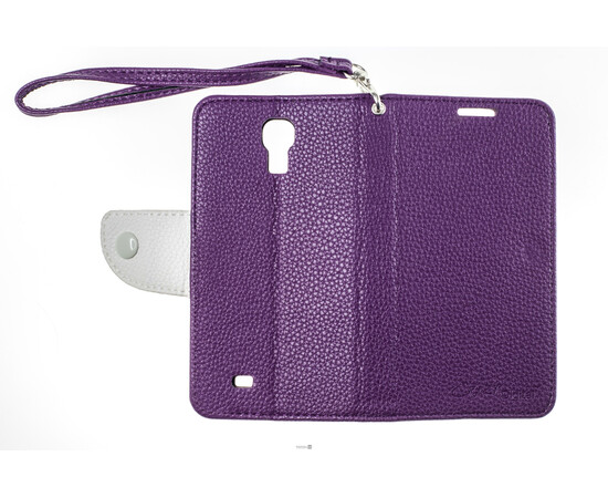 Чехол для Samsung Galaxy S4 Crazy on Digital Card Holder Flip Case Cover (Violet/White), фото , изображение 8