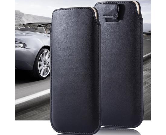 Чехол для iPhone 5/5S/SE i-Blason Leather Pouch (Black), фото , изображение 2