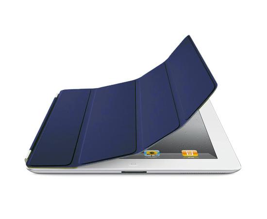 Чехол для iPad 2/3/4 Apple Smart Cover (Leather Navy), фото