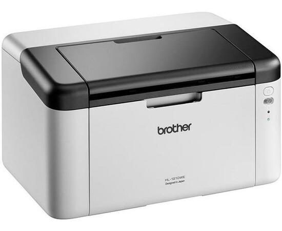 Принтер Brother HL-1210WEПринтер Brother HL-1210WE вид под углом слева