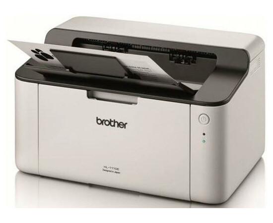 Принтер Brother HL-1110E вид под углом слева