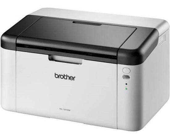 Принтер Brother HL-1210WE вид под углом справа