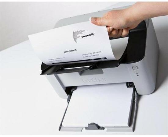 Принтер Brother HL-1210WE вид в работе
