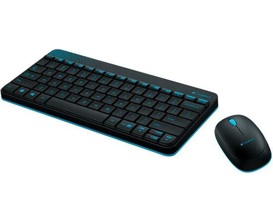 IT/наб LOGITECH Wireless Combo MK240 Black, фото