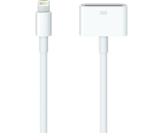 Apple Кабель-переходник Lightning to 30-pin Adapter 0,2 м (MD824) общий вид