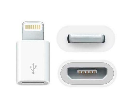 Apple Адаптер Lightning to Micro USB (MD820), фото , изображение 2