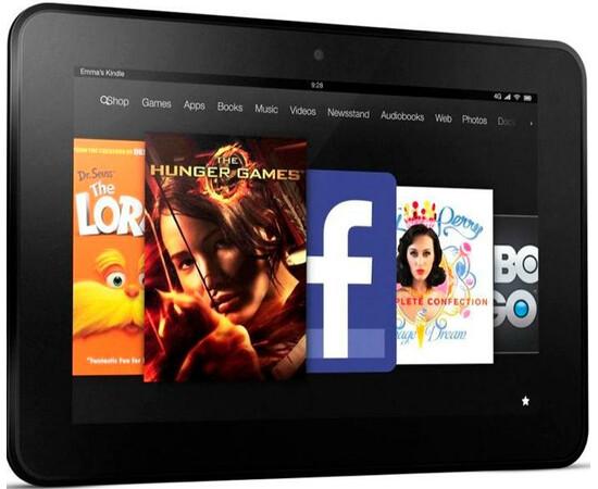 "Amazon Kindle Fire HD 8,9"" 4G 32 GB вид под углом"